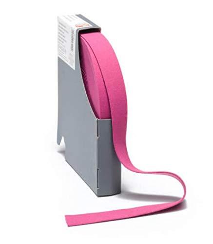 Zierstoff einfach nähen Gummiband, Elastic Band, Fashionband, Gummi unifarben, 20 mm breit - 3 Meter, Pink