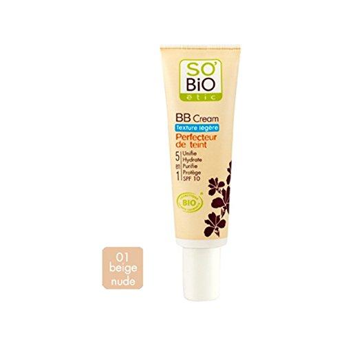 BB Cream textura ligera 01 nude beige None
