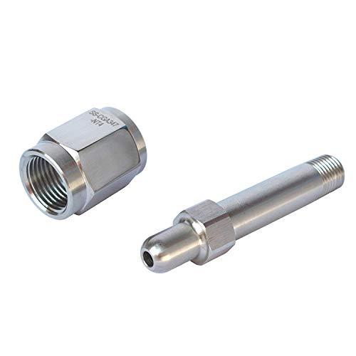IORMAN Universal CGA347 Regulator Inlet Nut & Nipple Adapter Air Tool Fittings