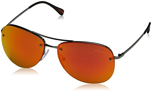 Prada Sport 5av5m0 Montures de lunettes, Multicolore (Gunmetal), 59 Mixte Adulte