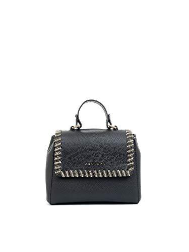 Orciani Luxury Fashion Donna B02019CHAINBLACK Nero Pelle Borsa A Mano | Autunno-inverno 19