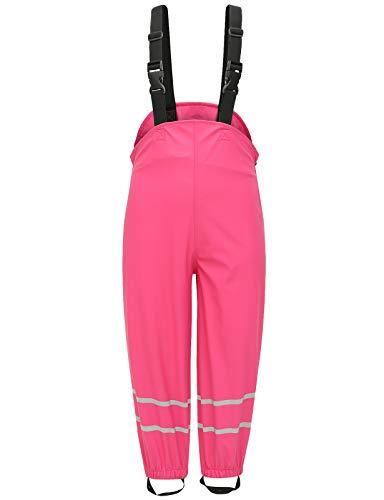 BenBoy Pantalon Impermeable Lluvia Infantiles Pespirable Resistentes al Viento Trekking Nieve Esqui...