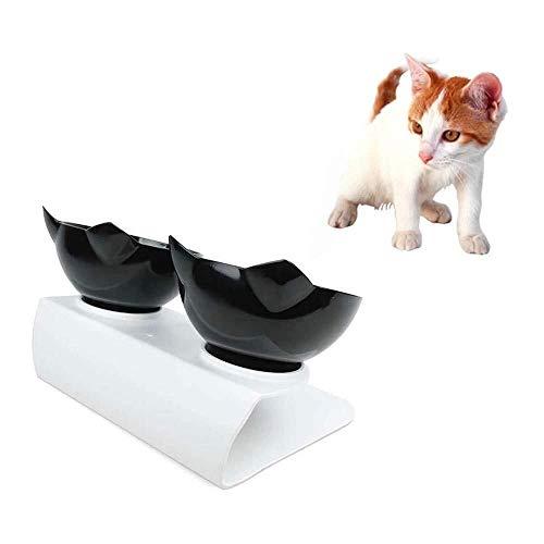 Asncnxdore. Hund automatische Feeder Anti-Rutsch-Hundenapf Welpen Katzenfutter Wasser Feeder Haustier Futtertray Hundenapf Haustier Fütterung Lieferungen