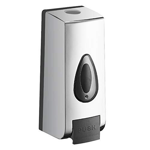 ZWMG Dispensador de jabón Dispensador de jabón de Goteo montado en Pared, Estilo de casa Simple, instalación sin punzón, dispensador de Ducha de baño de Hotel