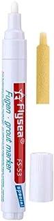 Grout Tile Pen Rejuvenate Grout Restorer Pen Renew Repair Marker for Tile Wall Floor Outus (White)