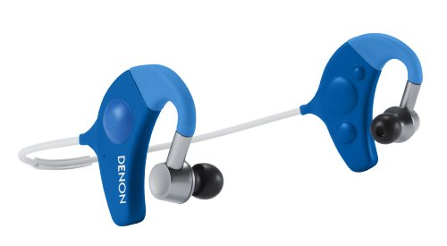 Denon AH-W150BK Exercise Freak In-Ear Headphones, Black/Grey