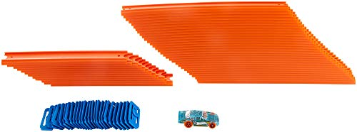 Hot Wheels FTL69 Auto und Mega Track Pack, Spielzeug ab 4 Jahren
