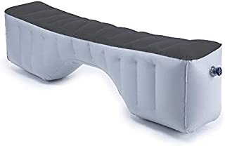 Auto Inflatable Car Travel Mattress Back Seat Gap Pad Air Bed Cushion Camping Air Couch (Light Grey)