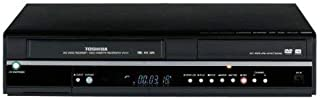 Toshiba D-VR650 Super MultiDrive 1080i Up-Converting DVD Recorder and VCR with Built-In Tuner (Renewed)
