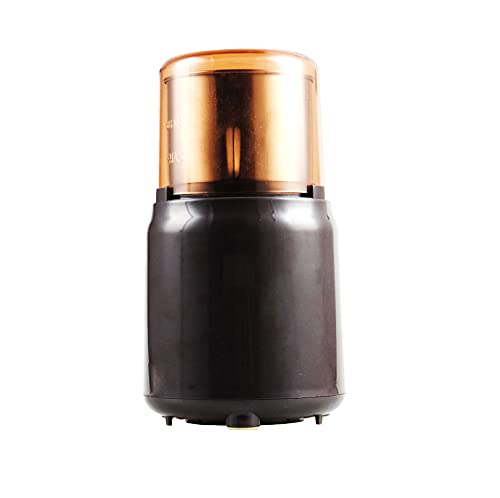 Golden Tech 200W Electric Coffee Grinder Stainless Steel Blades Press Touch Control Spice Grinder Mill Blender