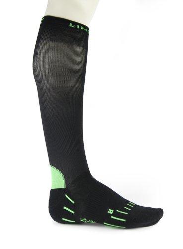 Lindner socks Compression Running Chaussettes de sport Noir Taille 41-43