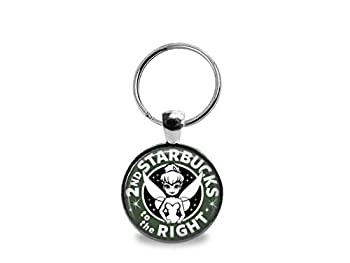 Tinkerbell Coffee Key Chain