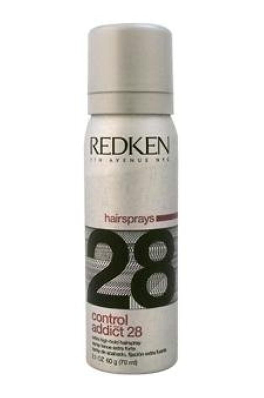 調和のとれたアシスタント腐食するREDKEN レッドケンコントロールアディクト28 /レッドケンエクストラハイホールド髪2.0オズスプレー(57)ML) 2オンス