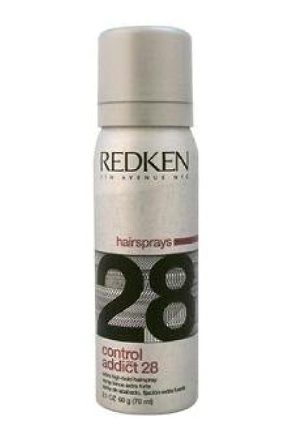 状況分子そこREDKEN レッドケンコントロールアディクト28 /レッドケンエクストラハイホールド髪2.0オズスプレー(57)ML) 2オンス