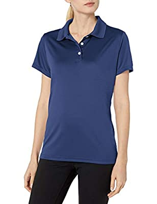 Hanes Sport Women's Cool DRI Performance Polo,Navy,XXX-Large