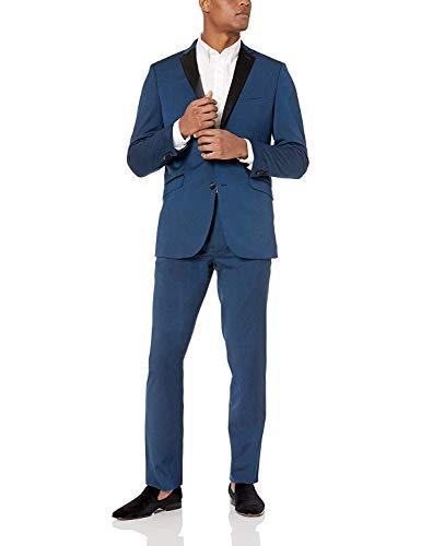 Kenneth Cole REACTION Blue Slim Fit Tuxedo
