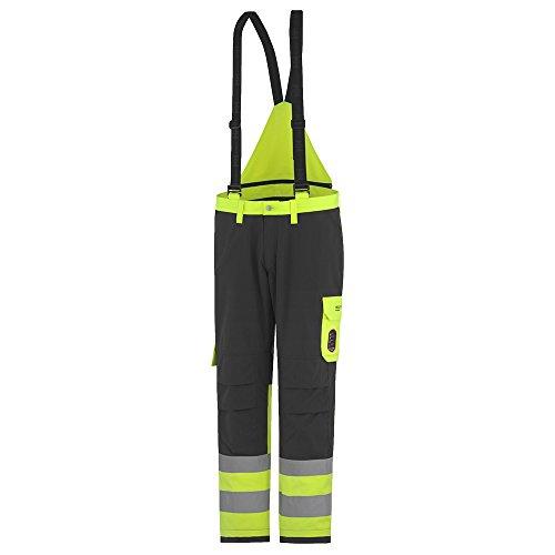 Helly Hansen Workwear Multinorm Arbeitshose Aberdeen Insulated Cl 1 Latzhose und Bundhose, Größe 112, gelb, 71487
