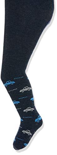 Sterntaler Baby-Boys Strumpfhose Autos Hosiery, blau mel, 80