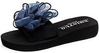 c, 7 : Bow Sandals Women Slippers Summer 2017 Fringe Sandal Flats Slides Women Shoes Chaussure de Marque Slipper flip Flop b3