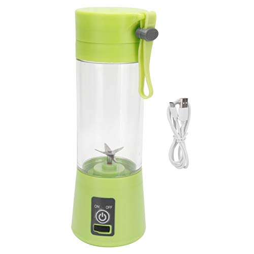 Wosune Fruit Mixer, Electric Juice Cup Automatic Blender Usb Charg Entsaft Elektrisch 380ml for Friends for Home