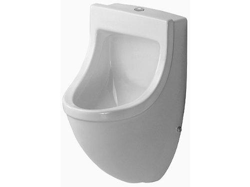 Duravit Urinal Starck 3–ALIMENTACION oben Fliege Starck 3weiß