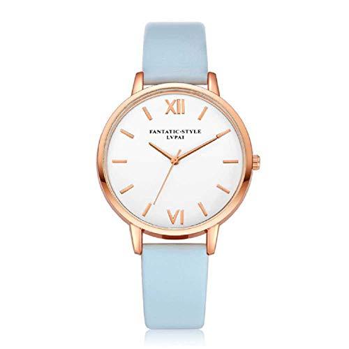 WSSVAN Reloj para mujer, reloj de cuarzo para mujer marea femenina del