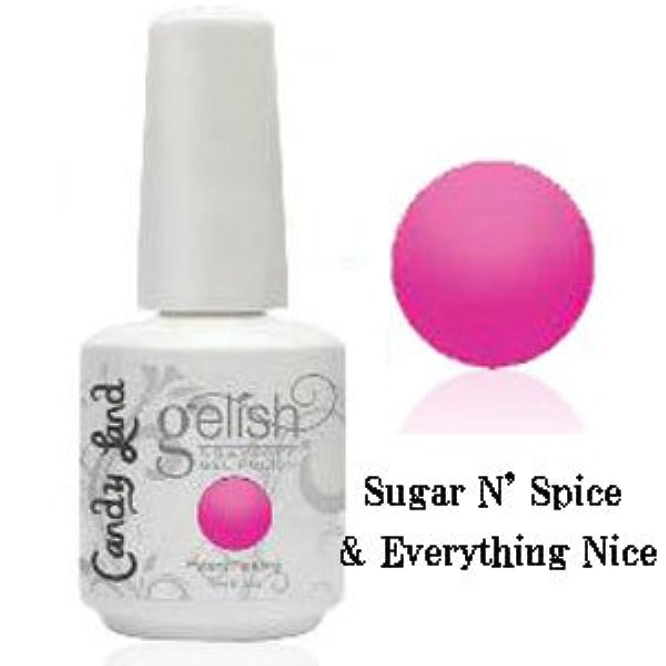 帰る鑑定生物学Harmony gelishソークオフジェル-Sugar N' Spice & Everything Nice-キャンディーランドコレクション 15ml [海外直送品][並行輸入品]