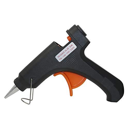 Heißklebepistole, 20W Mini Klebepistole mit Kabel, Mini Klebepistole Klebesticks(200mmx7mm) für kleine DIY-Projekte, Kunsthandwerk, Hausreparaturen