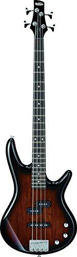 Ibanez IJSR190-WNS Jumpstart E-Bass-Set mit Verstärker / Kopfhörer / Zubehörset, Farbe: Walnussholz / Sonnenschein
