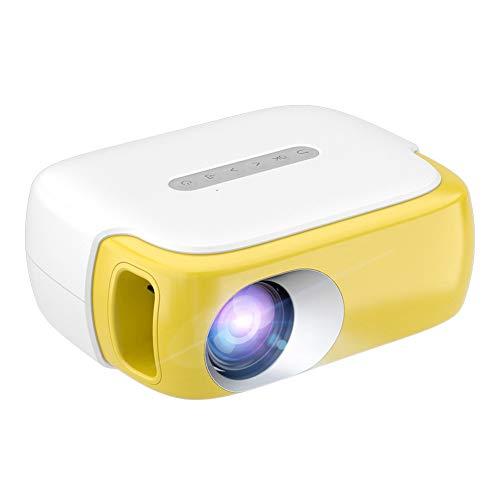 Mini Proyector para Cine En Casa Full HD 1080P LED Smart Portable Beamer 2000Lumen 3D Pequeño Proyector Niños Regalo para Niños