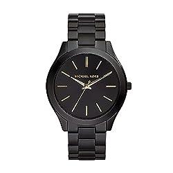 professional Michael Kors Slim Runway Black MK3221 Ladies Watch