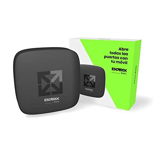 ENTRIX Basic - Abre todas las puertas automáticas con tu móvil vía Bluetooth y olvídate de los mandos - Sin necesidad de Wifi ni datos móviles 3G/4G - Control de accesos - IOS y Android