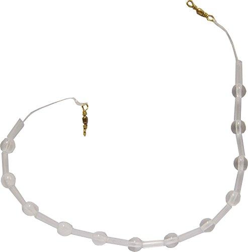 Behr Ghost Kristallkette sinkend Forelle Kristallglas, Forellenangeln, Forellenmontage zum Angeln auf Forellen, verwendbar mit Sbirolinos oder einzeln