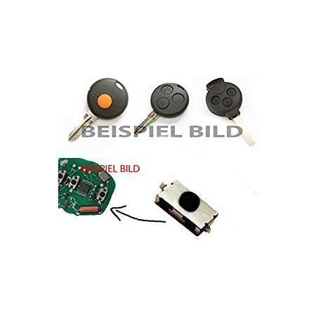1x Für Smart 450 451 452 Fernbedienung Funkschlüssel Schlüssel Mikroschalter Smd Taster Microschalter Auto