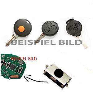 Für Smart 450 451 452 Microtaster Mikrotaster Taster Fernbedienung Schlüssel