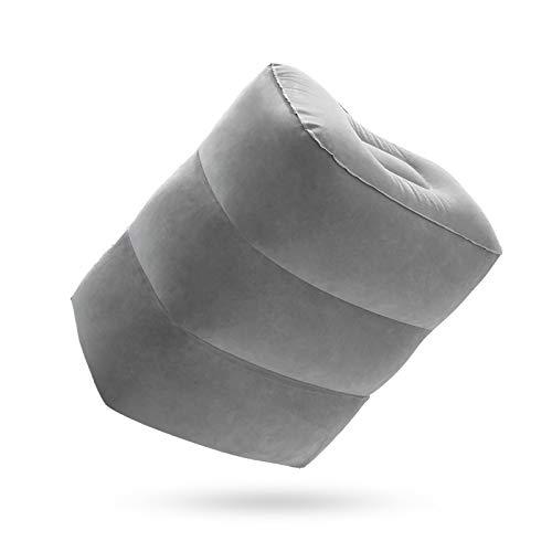 BANGSUN 1 almohada de viaje inflable cómoda para descansar, ultra cómoda.