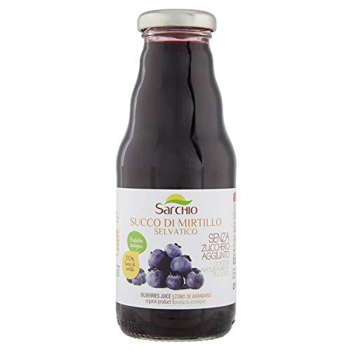 Sarchio Succo di Mirtillo Selvatico Biologico - 330 ml