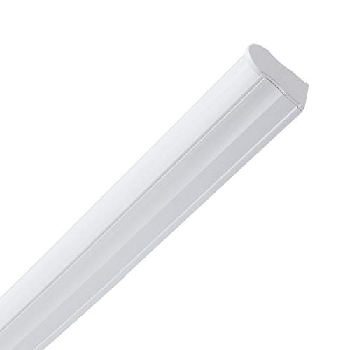 LEDKIA LIGHTING Rohrleiste T5 LED 1200 mm 18W Warmes Weiß 3000K - 3500K
