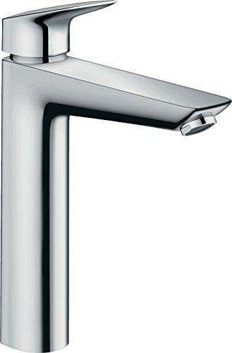 Hansgrohe–71012000–Grifo mezclador de lavabo de cuarto de baño para armario de alta Mycube XL