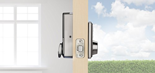 Kwikset 98880-004 SmartCode 888 Smart Lock Touchpad Electronic Deadbolt Door Lock with Z-Wave Plus...