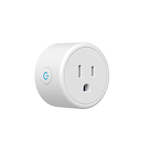 Smart Plug, WiFi Outlet, Compatible with Alexa, Google Home Remote Control Your Home Appliances from Anywhere, ETL Certified, Supports 2.4GHz Network