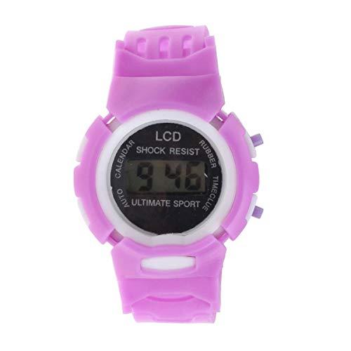 Armbanduhr LANOWO FüR MäNner Studenten Zeit Elektronische Digital LCD Wrist Sportuhr Pink Verkaufen Sich Wie Warme Semmeln Watch