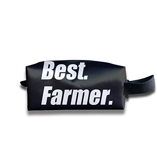 WAY.MAY Best Farmer Ever Storage Bag Tote-Handbags Cosmetic Pouch Portable Travel Makeup Tote Bag Pen Case Bag Space Saver Bags Medicine Package Sewing Kit