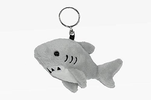 Unbekannt Schlüsselanhänger Hai, aus Plüsch, Tier Tiere, Haifisch Fische