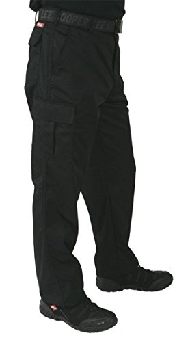 Lee Cooper Workwear Cargo Pant, 34L, schwarz, LCPNT205