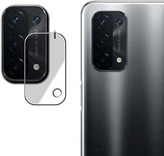 شاشة حماية زجاجية من النانو المرن ضد الصدمات لعدسة كاميرا موبايل اوبو A74، شفاف