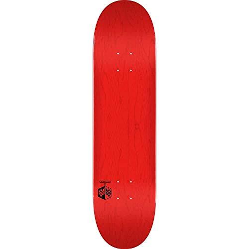 Mini Logo Planche de skateboard Cheveron Detonator Bouleau teint Rouge 19,1 cm