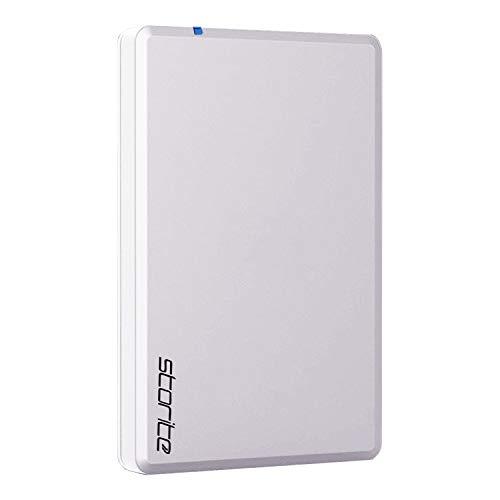 Storite Tragbares Gaming-Laufwerk, 3.0-USB-Spielwerk, zum Speichern und Speichern von Spielen, externe Gaming-Festplatte