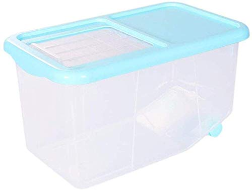 GONGFF Rice Box Health Kitchen Rice Bucket Storage Rice Bucket with Lid Flour Millet Storage Box Rice Bucket Put Rice Cylinder Protection (Size : 10kg)