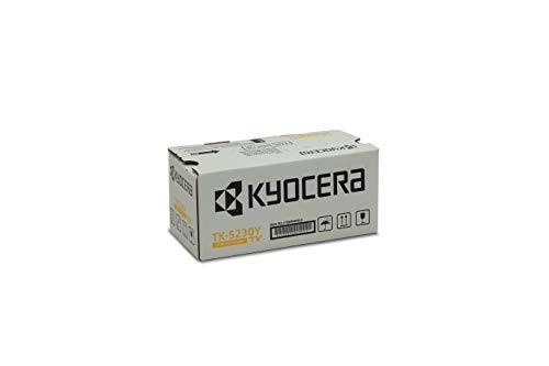 Kyocera TK-5230Y Original Toner-Kartusche Gelb 1T02R9ANL0. Für ECOSYS M5521cdn, ECOSYS M5521cdw, ECOSYS P5021cdn, ECOSYS P5021cdw. Amazon Dash Replanishment-Kompatibel